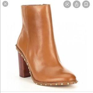 Gianni Bini Zanderson Leather Studded Booties